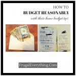 How to Budget Reasonably