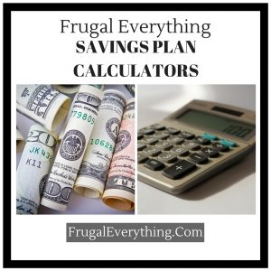 saving plan calculators