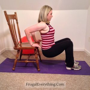 Chair Dips Finish