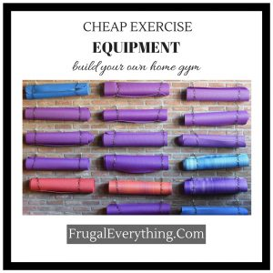 Cheap Exercise Equipment build your own home gym